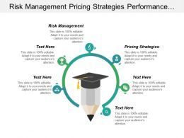 Risk Management Pricing Strategies Performance Improvement Market Segmentation Cpb
