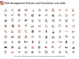 Risk Management Process And Procedures Icon Slide Treat C410 Ppt Powerpoint Presentation Pictures