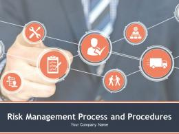 Risk Management Process And Procedures Powerpoint Presentation Slides