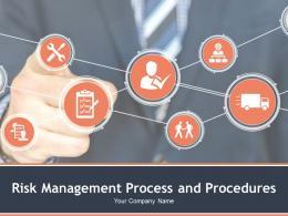 Risk Management Process And Procedures Powerpoint Presentation Slides