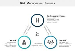 Risk Management Process Ppt Powerpoint Presentation Gallery Template Cpb