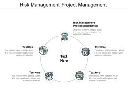 Risk Management Project Management Ppt Powerpoint Presentation Pictures Guidelines Cpb