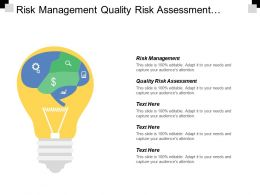 Risk Management Quality Risk Assessment Project Timeline Template Cpb