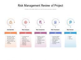 Risk Management Review Of Project