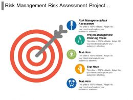 Risk Management Risk Assessment Project Management Planning Phase Cpb