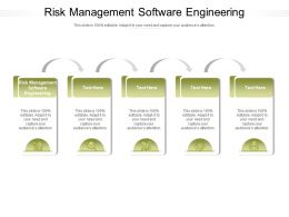 Risk Management Software Engineering Ppt Powerpoint Presentation Infographic Template Format Cpb