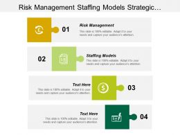 Risk Management Staffing Models Strategic Management Technological Changes Cpb