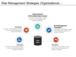 Risk Management Strategies Organizational Performance Improvement Restructuring Process Cpb