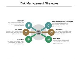 Risk Management Strategies Ppt Powerpoint Presentation Inspiration Elements Cpb