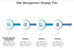 Risk Management Strategy Plan Ppt Powerpoint Presentation Professional Layout Cpb