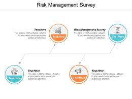 Risk Management Survey Ppt Powerpoint Presentation Slides Graphic Tips Cpb