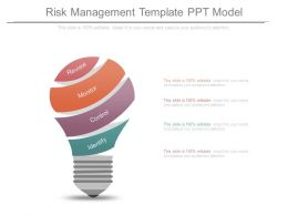 Risk Management Template Ppt Model