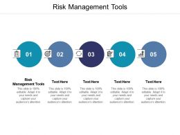 Risk Management Tools Ppt Powerpoint Presentation Summary Templates Cpb