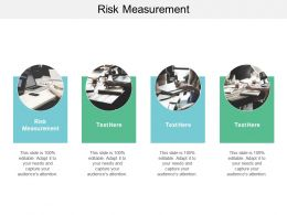 Risk Measurement Ppt Powerpoint Presentation Layouts Outfit Cpb