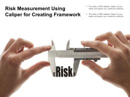 Risk Measurement Using Caliper For Creating Framework