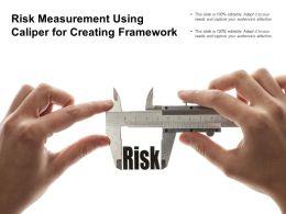 Risk Measurement Using Caliper For Creating Framework