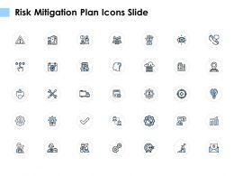 Risk Mitigation Plan Icons Slide Growth Arrow E295 Ppt Powerpoint Presentation Download