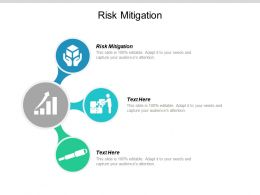 Risk Mitigation Ppt Powerpoint Presentation Icon Cpb