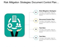 Risk Mitigation Strategies Document Control Plan Project Management Cpb
