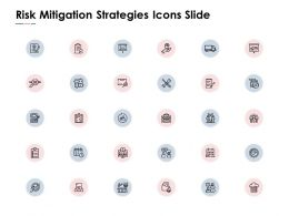 Risk Mitigation Strategies Icons Slide Gears Ppt Powerpoint Presentation Pictures