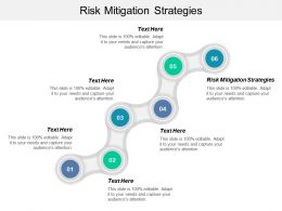 Risk Mitigation Strategies Ppt Powerpoint Presentation Slides Background Designs Cpb