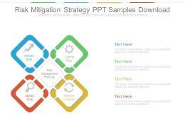 Risk Mitigation Strategy Ppt Samples Download