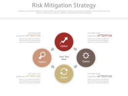Risk Mitigation Strategy Ppt Slides