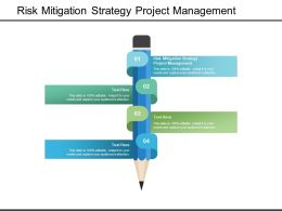 Risk Mitigation Strategy Project Management Ppt Powerpoint Designs Cpb