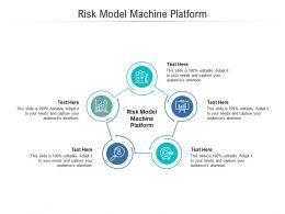 Risk Model Machine Platform Ppt Powerpoint Presentation Show Sample Cpb