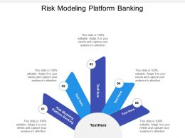 Risk Modeling Platform Banking Ppt Powerpoint Presentation Gallery Cpb