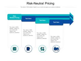 Risk Neutral Pricing Ppt Powerpoint Presentation Gallery Templates Cpb
