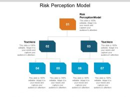 Risk Perception Model Ppt Powerpoint Presentation Infographic Template Cpb
