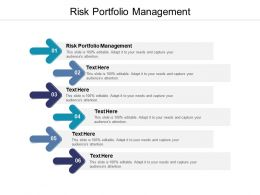 Risk Portfolio Management Ppt Powerpoint Presentation File Example Cpb