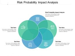 Risk Probability Impact Analysis Ppt Powerpoint Presentation Ideas Topics Cpb