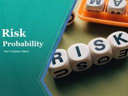 Risk Probability Powerpoint Presentation Slides