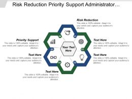 Risk Reduction Priority Support Administrator Module Reporting Engines