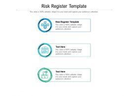 Risk Register Template Ppt Powerpoint Presentation Outline Grid Cpb