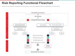 Risk Reporting Functional Flowchart Approach To Mitigate Operational Risk Ppt Information