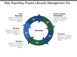 Risk Reporting Project Lifecycle Management Six Sigma Process Control Cpb