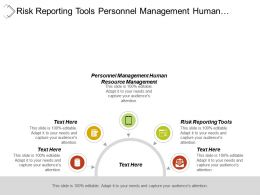 Risk Reporting Tools Personnel Management Human Resource Management Cpb