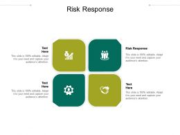 Risk Response Ppt Powerpoint Presentation Gallery Portrait Cpb