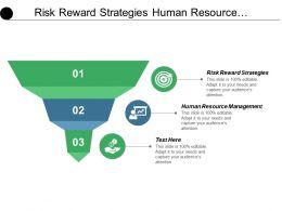 Risk Reward Strategies Human Resource Management Workforce Planning Cpb