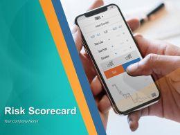 Risk Scorecard Powerpoint Presentation Slides