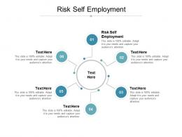 Risk Self Employment Ppt Powerpoint Presentation Summary Rules Cpb