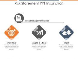 Risk Statement Ppt Inspiration