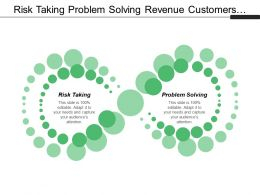 Risk Taking Problem Solving Revenue Customers Alliances Partnerships Cpb
