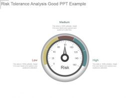 Risk Tolerance Analysis Good Ppt Example