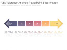 Risk Tolerance Analysis Powerpoint Slide Images