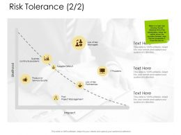 Risk Tolerance Business Continuity Problems Ppt Powerpoint Presentation File Vector