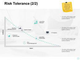 Risk Tolerance Business Management Ppt Powerpoint Presentation Pictures
